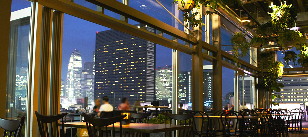 roof top bar & terrace G | Re-open after renovation on 2nd/JUL (Sat)13roof top bar & terrace G